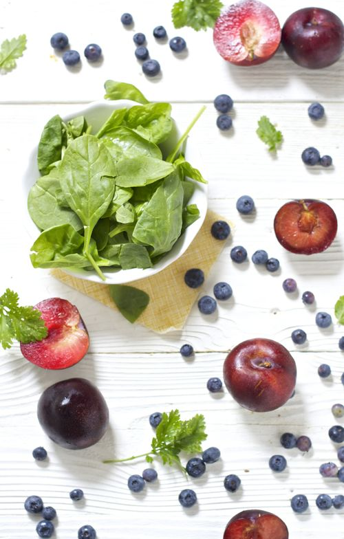 Plum + Blueberry + Spinach + Cilantro Puree — Baby FoodE | organic baby food recipes to inspire adventurous eating