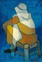 Le nubien by Louis Toffoli