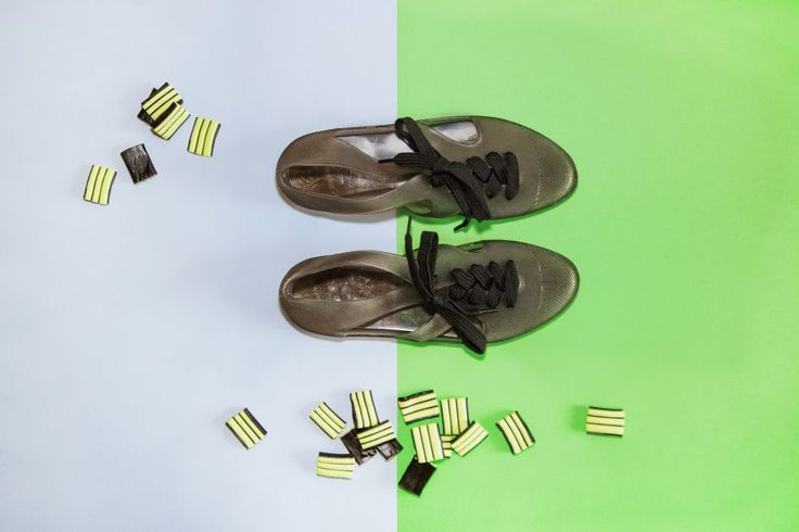 F-troupe Bathing Shoes Jelly Black  fot. Oliwia Cabaj