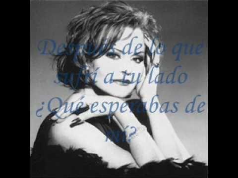Rocío Dúrcal - ¿Qué Esperabas de Mí? - YouTube