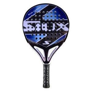 La gran pala de padel Siux Blue Carbon 2013 es una raqueta de mucho control y un gran punto dulce, Esta fabricada en 100% carbono lo que le da a esta gran pala de padel muchisima potencia.  http://www.newpadel.es/siux/1168-siux-blue-carbon.html