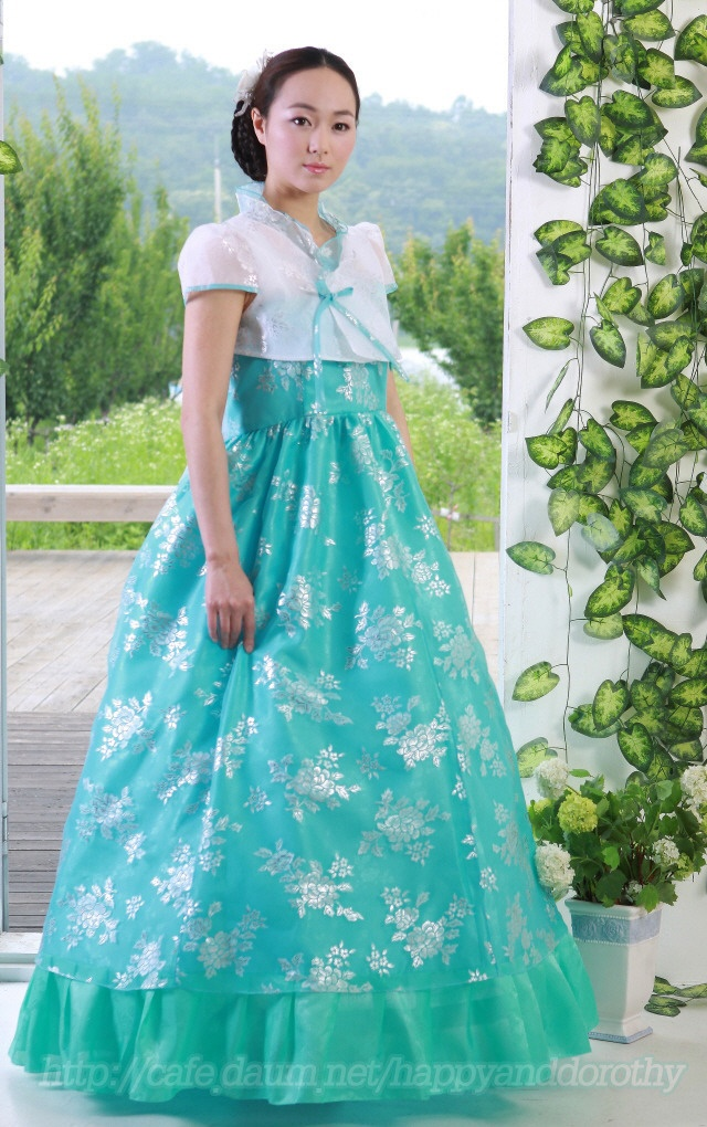 hanbok--love this color