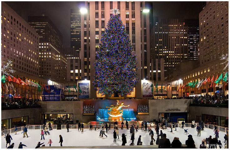 The Rockefeller Tree has been erected annually in the Rockefeller Center since 1933.  New York is a truly magical destination at Christmas Time, get in touch with our DMC; Details NYC to find out more