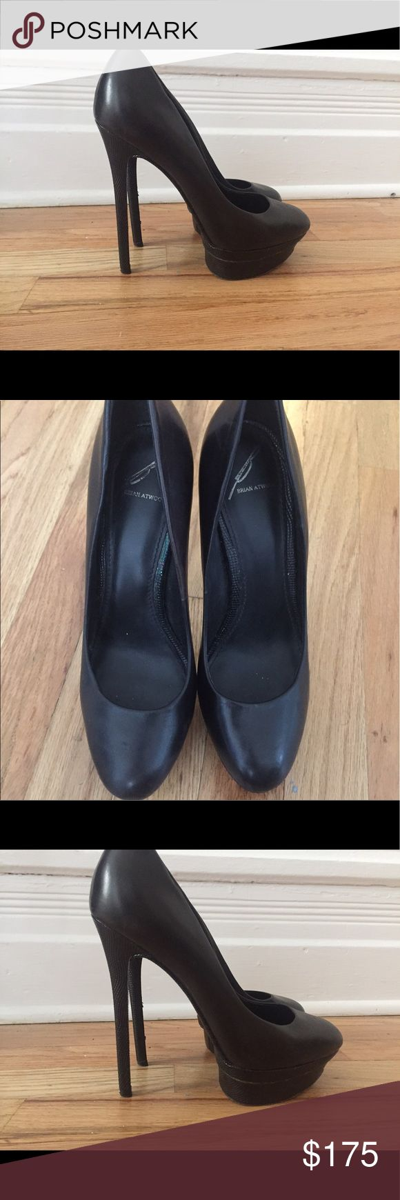 Brian Atwood shoes Brian Atwood shoes in size 7. In perfect condition. Brian Atwood Shoes Heels