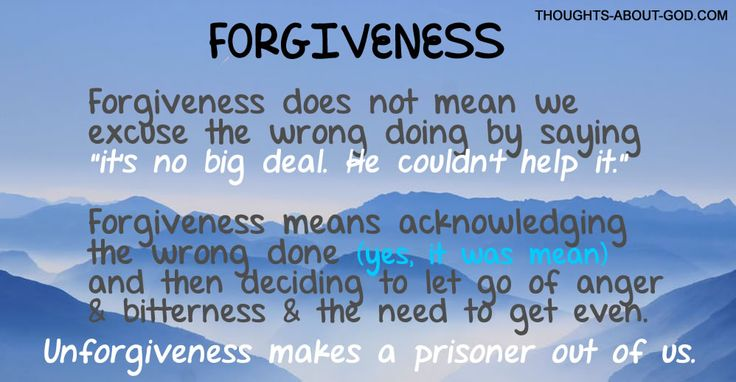 Living in Forgiveness | Devotional Thoughts from Helen Lescheid