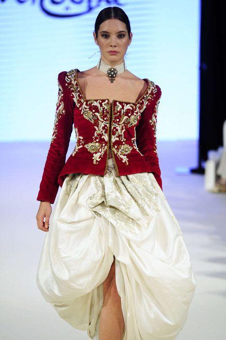 Rym Menaifi for Manouba Couture Осень/Зима 2016, Haute Couture - Дефиле (#26345)