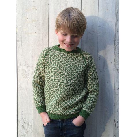 146 Carl-Emils sweater fra caMaRose - Køb garn og opskrift til Carl-Emils sweater