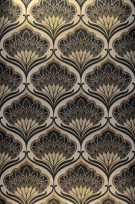 best 25 retro wallpaper ideas on pinterest vintage pattern design kitchen wallpaper patterns. Black Bedroom Furniture Sets. Home Design Ideas