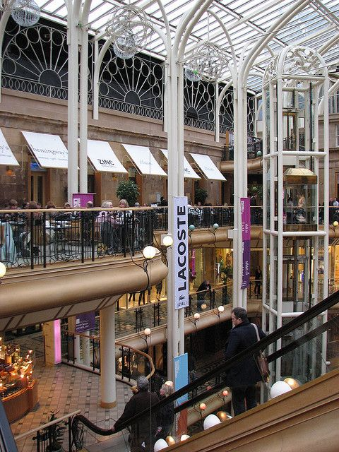 Glasgow Scotland.  Mall