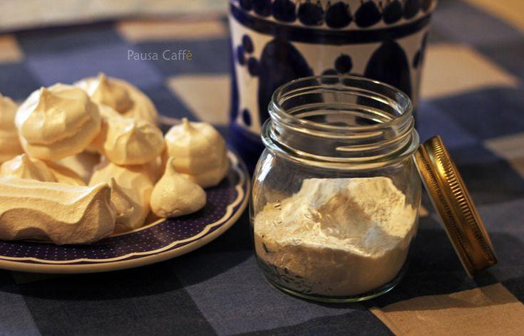 Glassa reale con polvere di meringa (Meringue Powder)