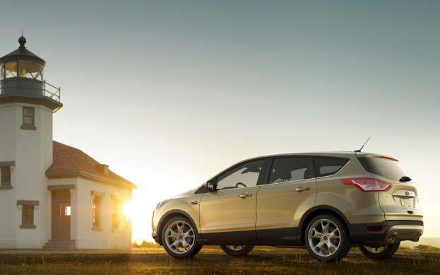 The newly redesigned Ford Escape EcoBoost has been rated to tow 3500 pounds.