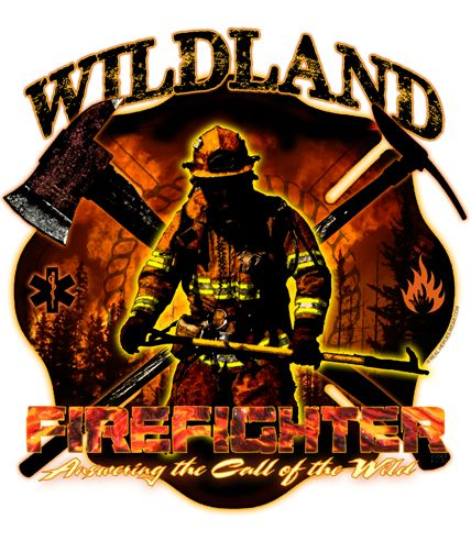 Wildland Firefighter Answering the Call Of The Wild Shirt $19.95