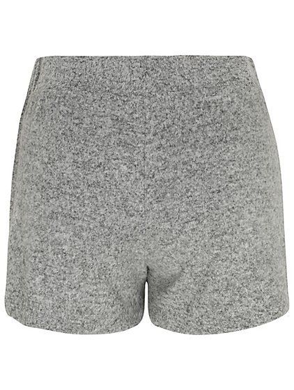 Light Grey Soft Touch Shorts Simply Lounge Put To Bed