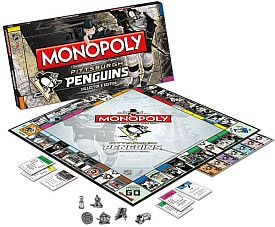 Be the Pens GM in this Penguins Monopoly Game!