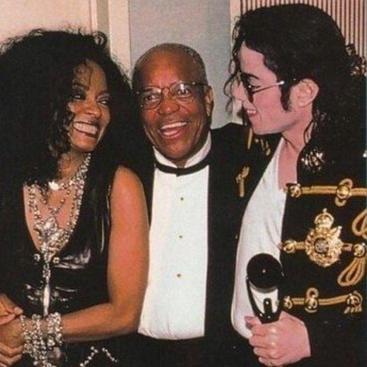 "208 mentions J'aime, 1 commentaires - Michael Jackson Rare Photos (@mjxrare) sur Instagram: ""Diana Ross, Berry Gordy, and Michael Jackson, 1997 #michaeljackson"""
