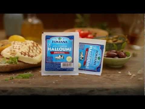 Reklamfilm för Fontanas halloumi
