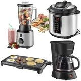 Insignia™ - Blender, Coffeemaker, Pressure Cooker & Electric Griddle Package
