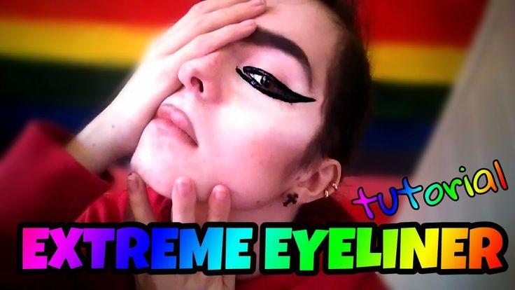 EXTREME EYELINER TUTORIAL (Gaga inspired)