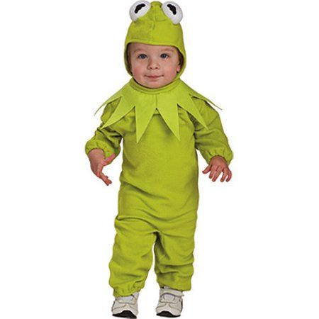 Kermit the Frog 6-12 Months Infant Halloween Costume, Boy's, Size: Toddler, Green