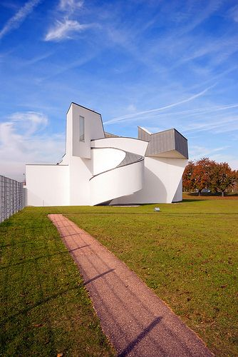 Vitra Design Museum designed by Frank Gehry. Weil am Rhein
