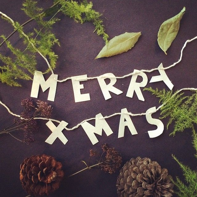 Wishing everyone a Merry Christmas! #uscha #handmade #christmas #typography #crafts