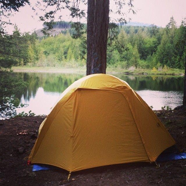Great camping spot in Nanaimo, British Columbia. #ExploreNanaimo #ExploreBC