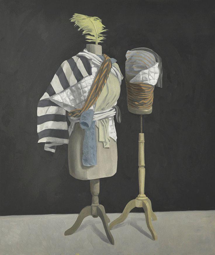 Giorgio Silvestrini - 2014 oil on canvas - 172 x 145 cm www.evahober.com