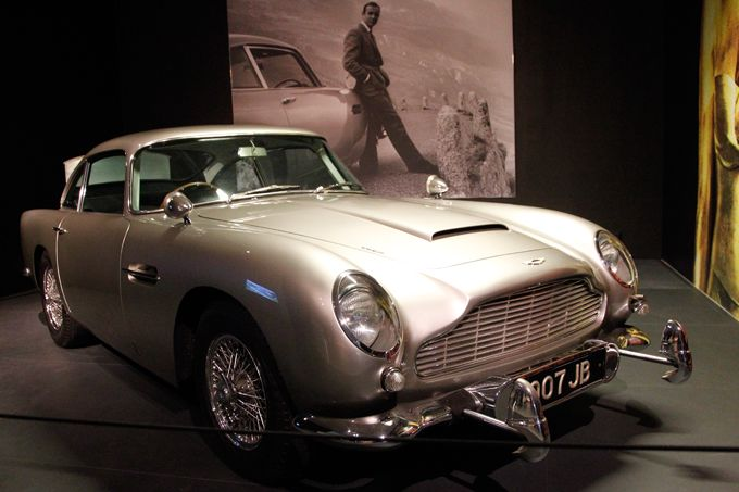 "The most wellknown James Bond ""Company Car"""
