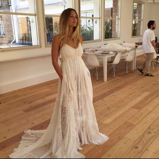 """50k Likes, 193 Comments - Bar Refaeli (@barrefaeli) on Instagram: """"Reminiscing about my magic day and how lucky I was to have @clarewaightkeller design my wedding…"""""""