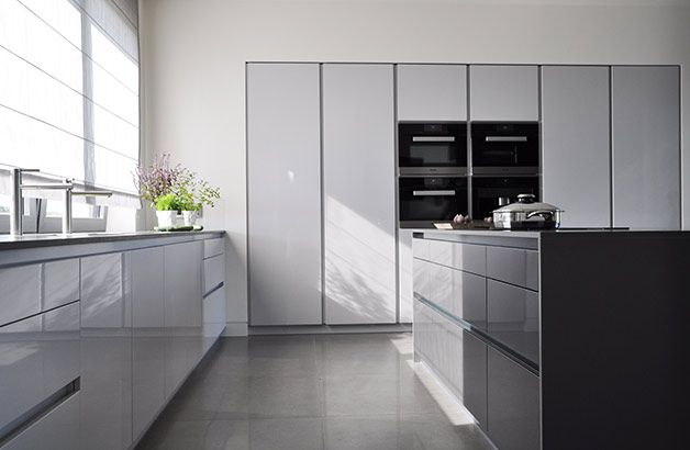 PULVA, minimalistic, interior design, metal, minimal, modern, materials, home, homestyle, house, dom, kitchen, dining room
