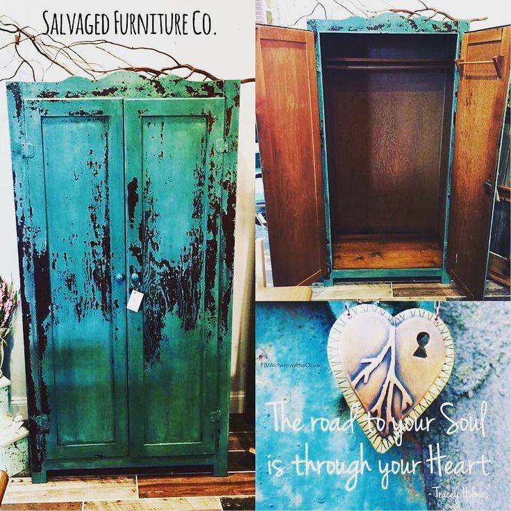We're getting crafty  @realmilkpaintco!  Here's our favoritist Real Milk Paint Project to date!  Sealed w/ @generalfinishes top coat!  Done in Real Milk Paints Agua ... so lovely & oh so so hot!  Check it out! ............. xoxo Salvaged Furniture Company @salvagedfurniturecompany