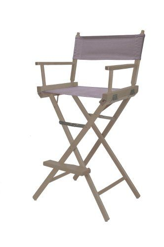 Inspirational Bar Height Aluminum Directors Chair