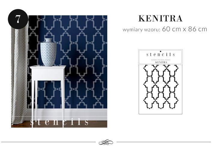 kenitra -szablon malarski allegro nick:stencils_pl