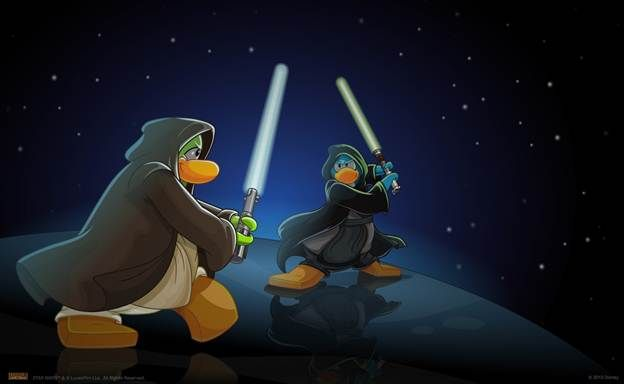 OMG Star Wars Is Taking Over Club Penguin!