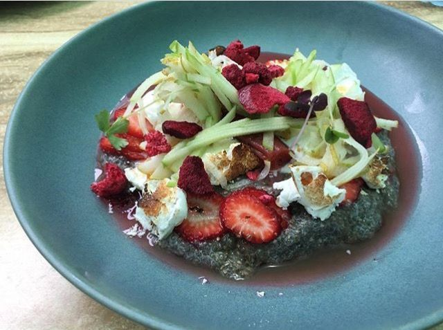 Chia Pudding on the Dragonfly Carseldine breakky menu!