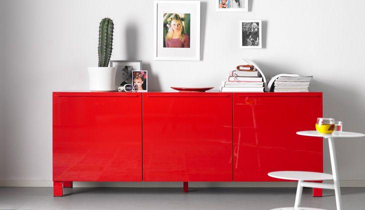 Rode kast inspiratie woonkamer Home Center Wolvega