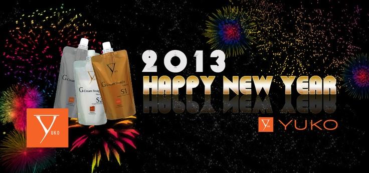#january #2013 #yuko #hair #straightening #gcream #happy #new #year #nye