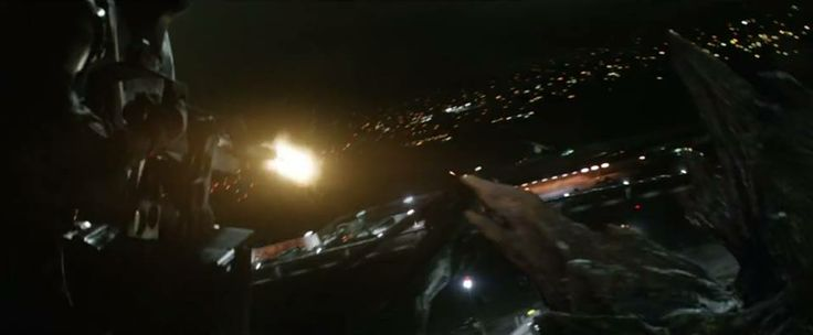 Awesome Godzilla 2014 Trailer Stills