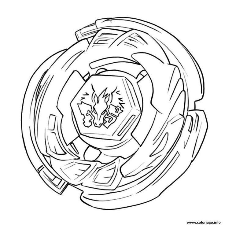 Beyblade Burst Evolution Coloring Sheets