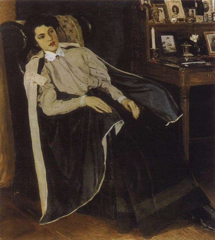 Михаил Васильевич Нестеров, Портрет О.М.Нестеровой, дочери художника