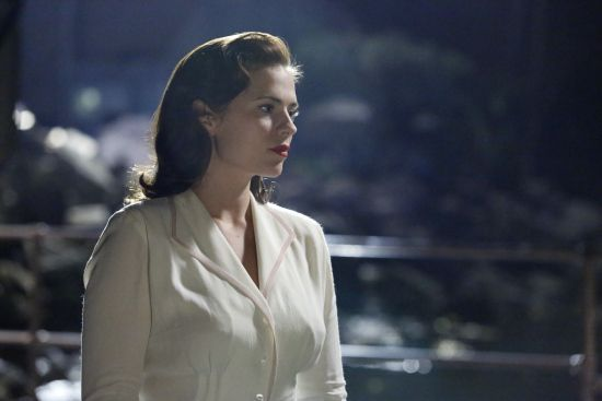 """Hayley Atwell as Agent Peggy Carter in """"Marvel's Agent Carter."""""""