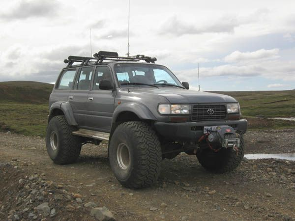 Iceland Truck | Nissan Patrol