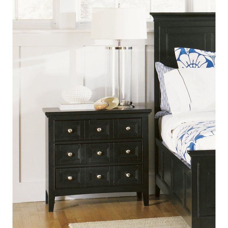 Magnussen South Hampton 3 Drawer Nightstand