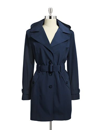 CALVIN KLEIN Contrast Lined Trench Coat