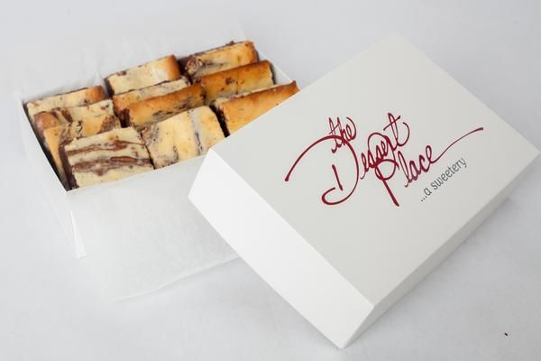 Cream Cheese Brownies - The Dessert Place