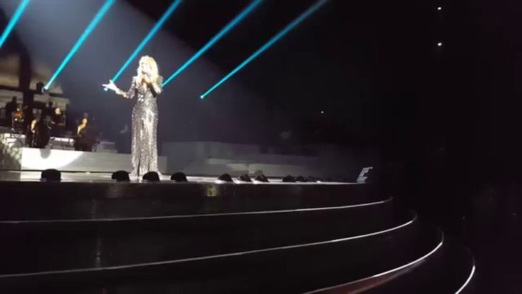 Celine Dion - Hello (Adele Cover) LIVE - New Year's Surprise - Dec 31st ...