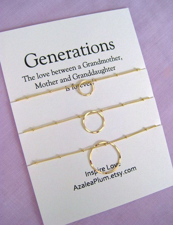 60th Birthday Gift Ideas For Mom Generations Jewelry Mother Daughter Grandmother