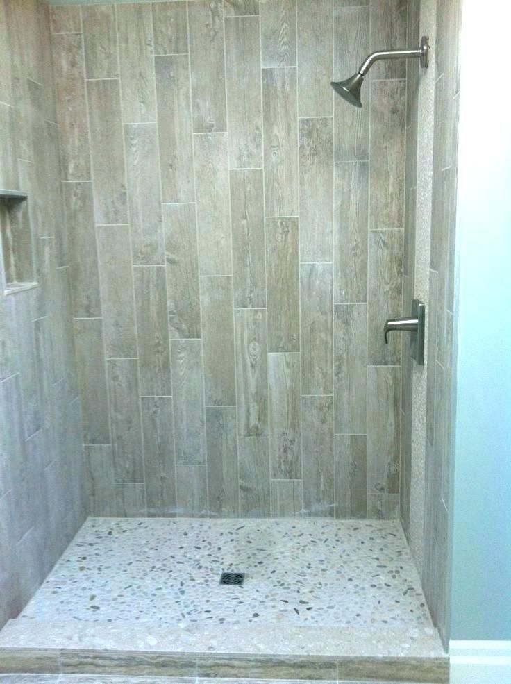 4x4 shower ideas - Google Search in 2020 | Wood tile ...