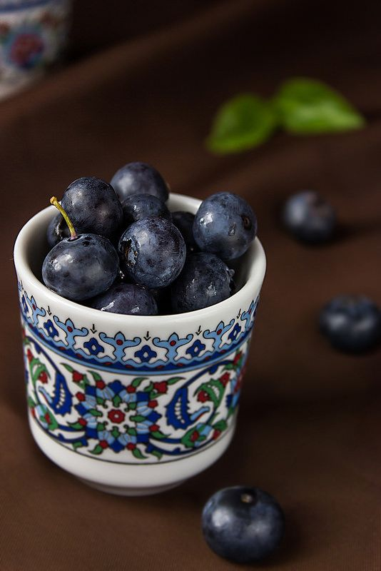 Borówka, bilberry - Sztuka Wcinania