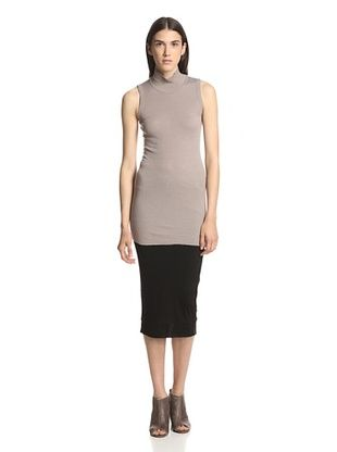 45% OFF Rick Owens Lilies Women's Sleeveless Turtleneck (Mauve)
